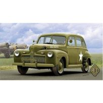 Ace Authentic - Maquette Ford Fordor Us Army Staff Car Model 1942