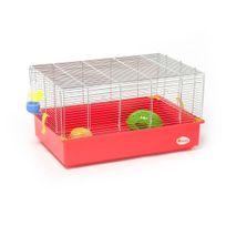 Animalis - Cage Équipée pour Hamster - 61x40x33cm