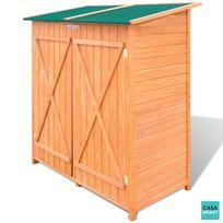 CASASMART - Abri rangement de jardin en bois