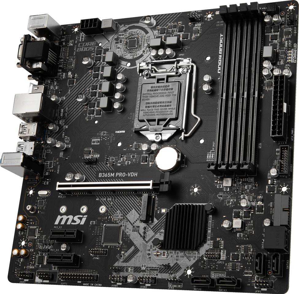 Carte mère Intel B365 PRO-VDH MSI