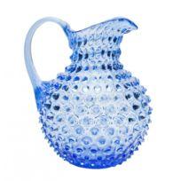 Cristallerie Markhbein - Broc à eau Bleu 1.5 L-broc Ananas par Markhbein