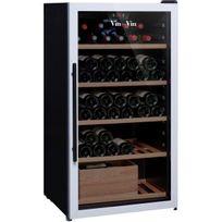 Vin Sur Vin - Cave à vin multi-usages - Multi-Températures - 100 bouteilles - Noir Aci-vsv443 - Pose libre