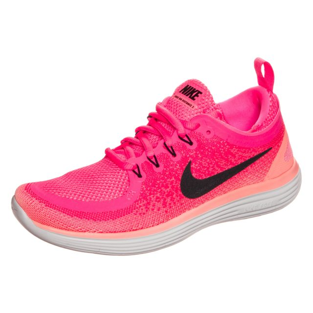 cheaper e865d bb1b3 Nike - Free Rn Distance 2 Rose chaussure - pas cher Achat  Vente  Chaussures running - RueDuCommerce