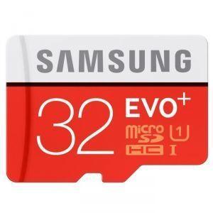 Samsung - Carte micro SD 32 Go EVO PLUS classe 10 90Mo/s avec adaptateur SD