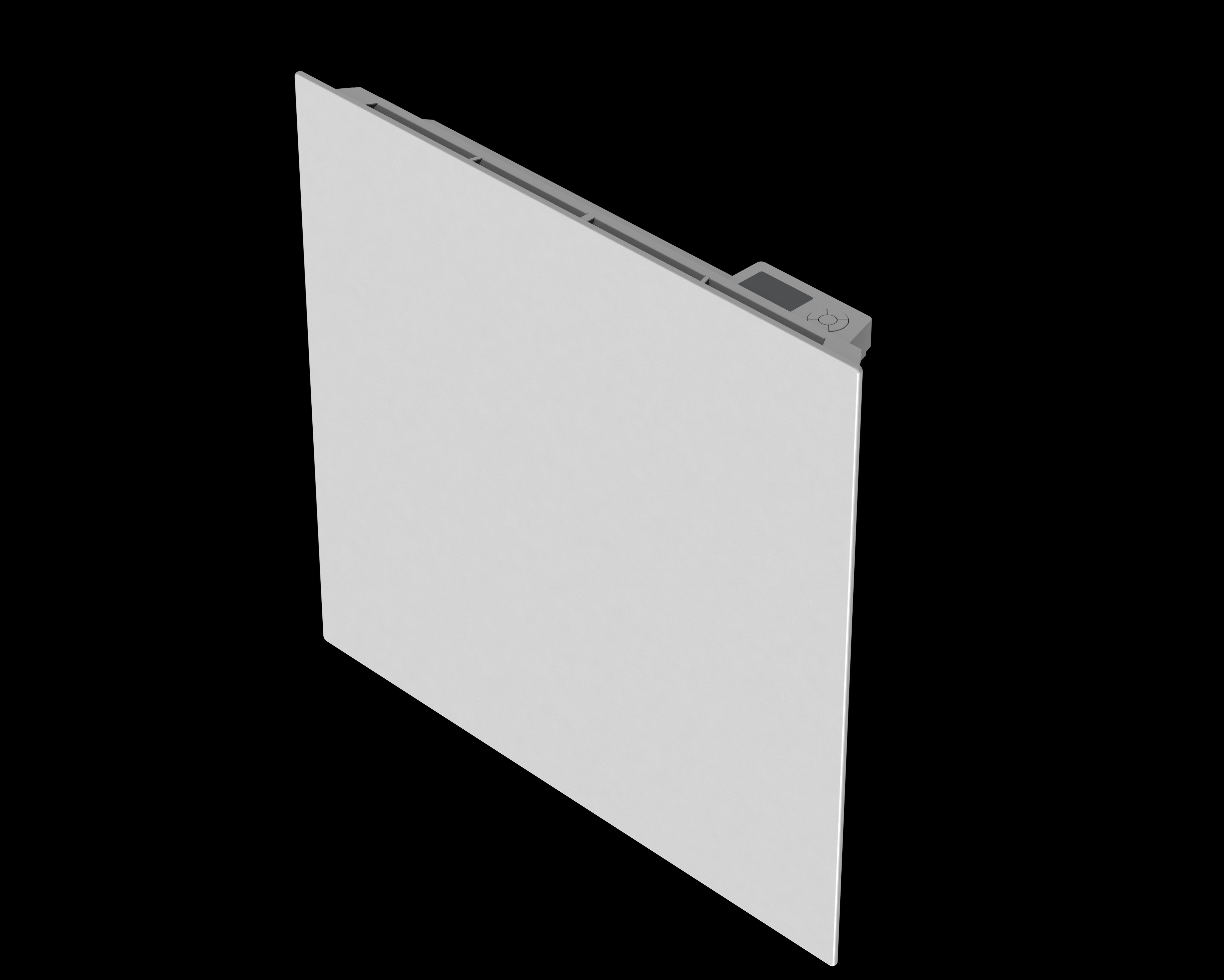 carrera radiateur inertie en fonte milo verre lcd 1000w pas cher achat vente radiateur. Black Bedroom Furniture Sets. Home Design Ideas