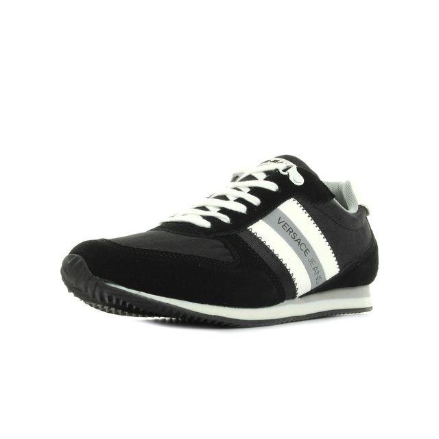 Versace Jeans - Sneaker Uomo DisA3 Suede Nylon - pas cher Achat ... 78859dc6ffd