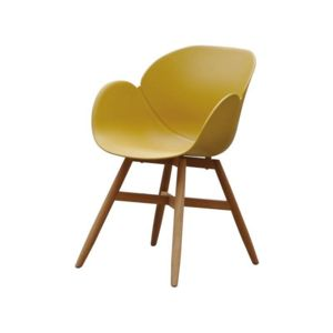 RESIDENCE Fauteuil LOMBOK Couleur Moutarde pas cher Achat