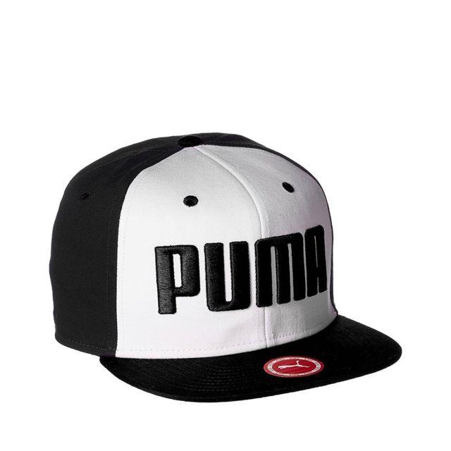 51ce2da172521 Puma - Flatbrim Homme Casquette Noir Noir Tu - pas cher Achat ...