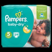 Pampers - Baby Dry Taille 5. 11 a 23 kg x39 couches