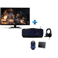 ACER - Ecran G246HLBbid + Pack THE G-LAB COMBO300/FR