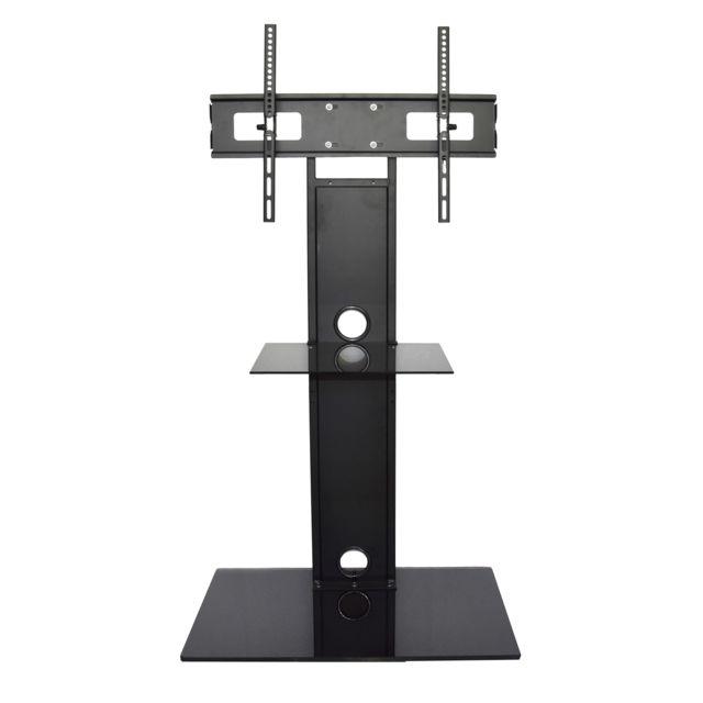 inotek helios 3255 meuble tv avec potence pour crans plats de 32 55 de 82 cm 140 cm. Black Bedroom Furniture Sets. Home Design Ideas