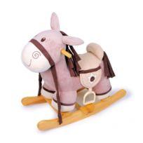 Legler - Cheval à bascule en bois - Poney Shériff - Jouet d'enfants