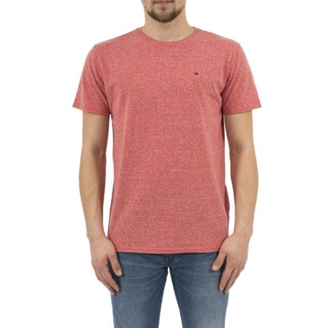 Tee Shirt Hilfiger Denim Dm0dm04413 Rouge