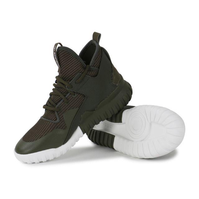 Adidas originals Tubular X Circular Kaki Baskets pas