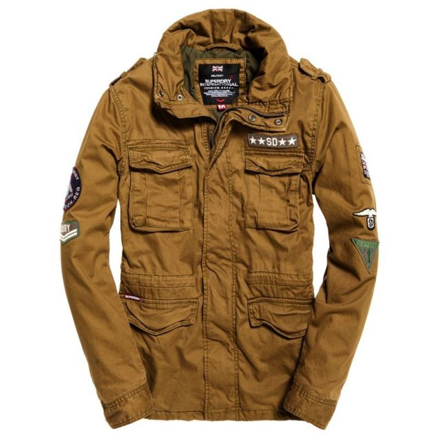 2f5f128a0a06a Superdry - Parka Rookie Ltd Edit N Military - pas cher Achat   Vente  Blouson homme - RueDuCommerce