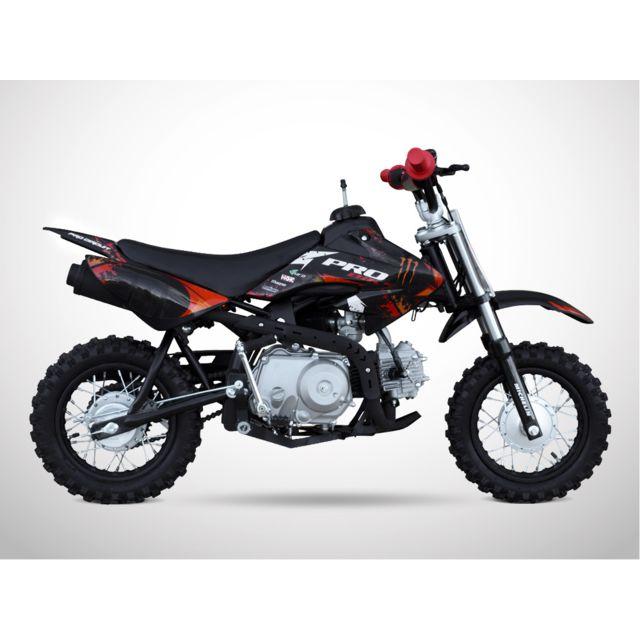 Probike - Moto Dirt Bike Enfant 88 - Pit Bike 88 - Rouge - 2018 Probike
