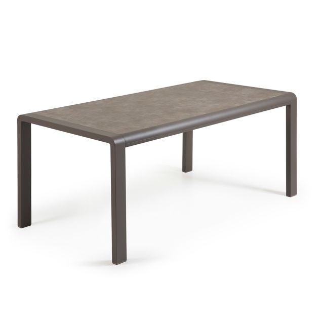 Kavehome Table Malta Vulcano, 160x90 cm