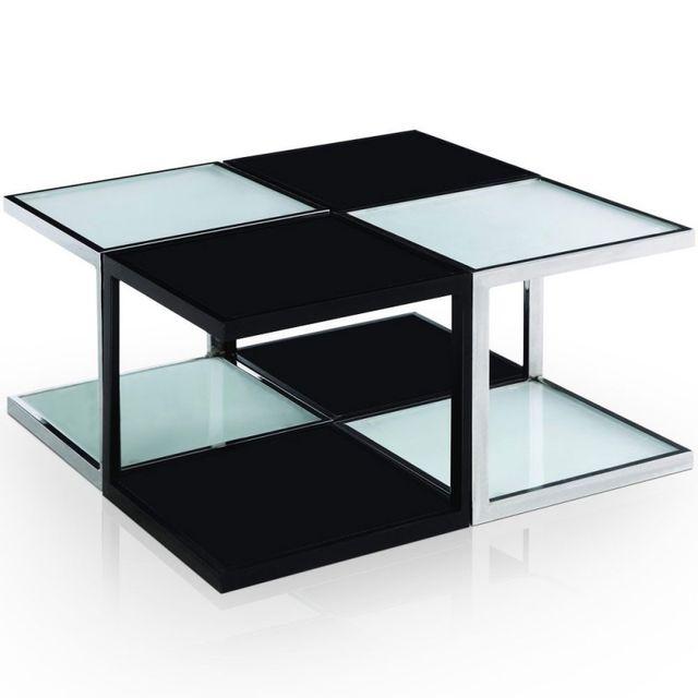 Paris Prix Table Basse Carré \