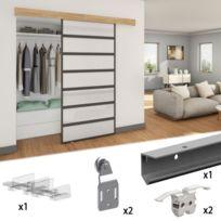 accessoire porte de placard achat accessoire porte de placard pas cher rue du commerce. Black Bedroom Furniture Sets. Home Design Ideas