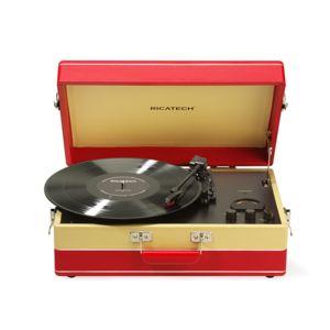 ricatech rtt95 platine vinyle design r tro et portable radio am fm usb pas cher. Black Bedroom Furniture Sets. Home Design Ideas