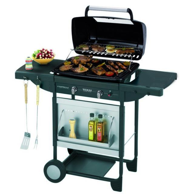 Grille de cuisson en fonte pour barbecue campingaz Texas
