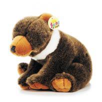 No Name - Adorable peluche très douce - Ours grizzli
