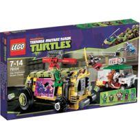 Lego - Teenage Mutant Ninja Turtles - 79104 - La Course Poursuite en Sheelraiser Import Uk