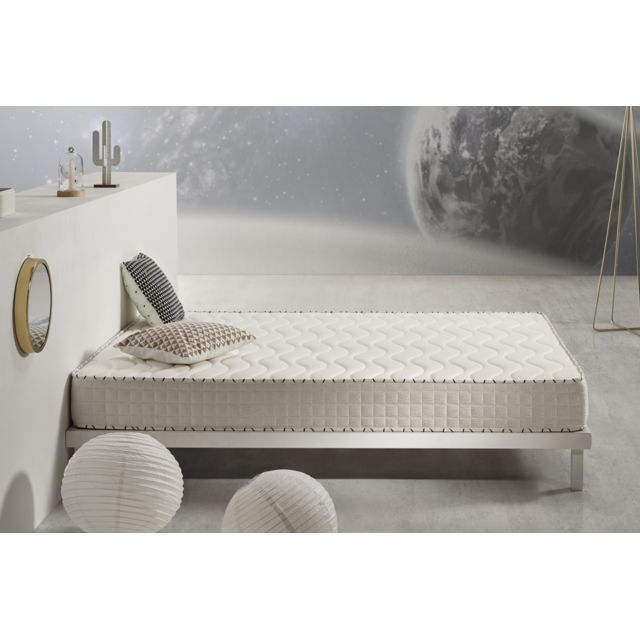 COSMOS Matelas OXIGENE 160x200 cm mousse HR ACTIVE LATEX® - BLUE LATEX® - AeraPur® - 17 cm