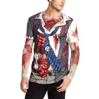 Faux Real Tees - Zombie T-shirt De Costume