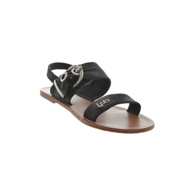Les P tites Bombes - sandales - nu pieds pervenche noir 40 - pas cher Achat    Vente Sandales et tongs femme - RueDuCommerce 895d0acd04b2