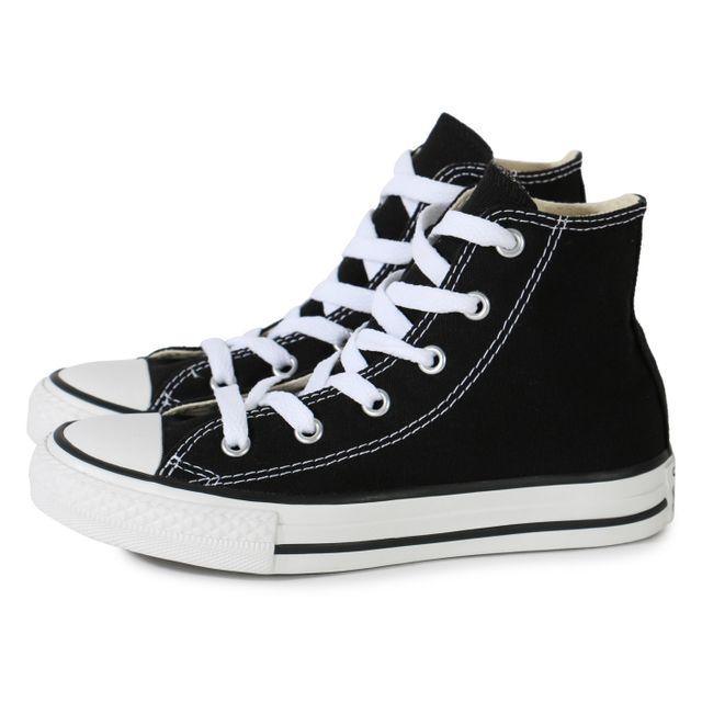 1e76907e9af65 Converse - Chuck Taylor All Star Hi Enfant Noire - pas cher Achat ...
