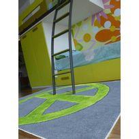 PAPILIO - Tapis PEACE AND LOVE Tapis Enfants par rose 120 x 170 cm