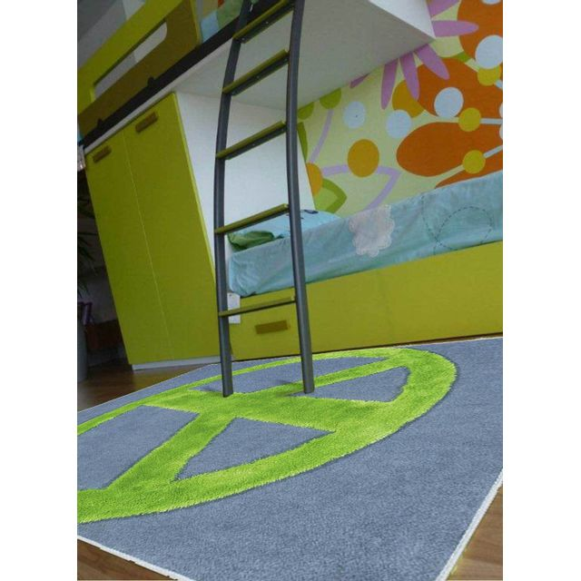 PAPILIO Tapis PEACE AND LOVE Tapis Enfants par rose 120 x 170 cm