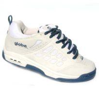 Globe - Baskets Homme Vintage collector skateshoes Elektro Off White Slat Blue