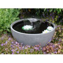 UBBINK - Fontaine de jardin ronde - Grise