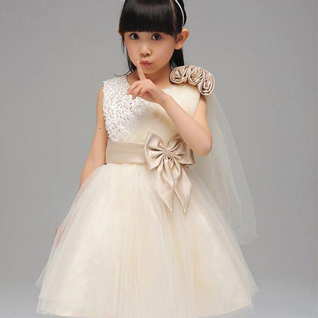 11878deebd3c2 Glareola - Robe enfant élégante de Cérémonie Mariage Soirée Cocktail  Demoiselle D honneur et baptème
