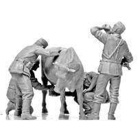 Master Box - Figurines 2ème Guerre Mondiale : Collecte de lait : Front Ouest 1940