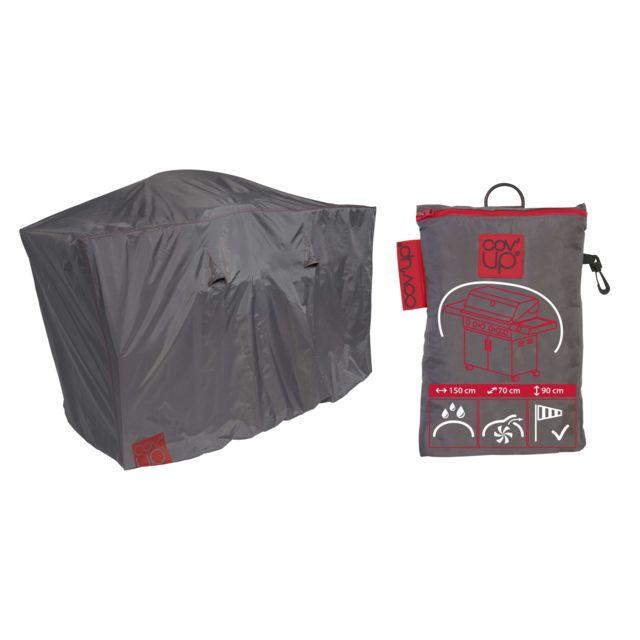 oviala housse de protection pour barbecue xl 150 x 60 cm. Black Bedroom Furniture Sets. Home Design Ideas