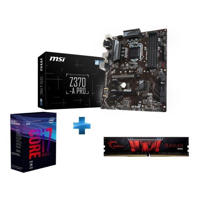 compatibilité processeur carte mère INTEL   Processeur i7 8700K  Socket 1151   3.7 Ghz   Cache 12M