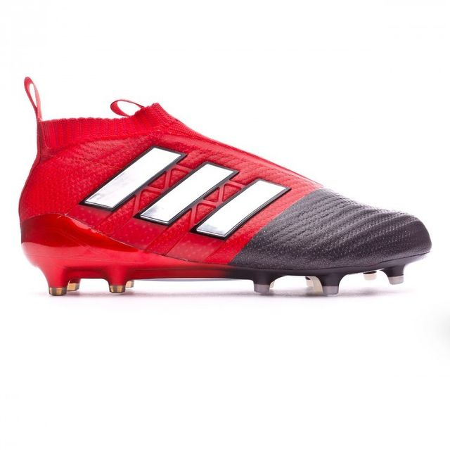 Adidas - Ace 17 Purecontrol Rouge-Blanc - 43 1/3 - pas cher Achat / Vente Chaussures foot - RueDuCommerce