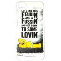 Simpsons - Coque officielle Omer Feudin Fussin Lovin pour iPhone Se et 5S