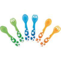 Munchkin - 6 fourchettes et cuillères multicolores