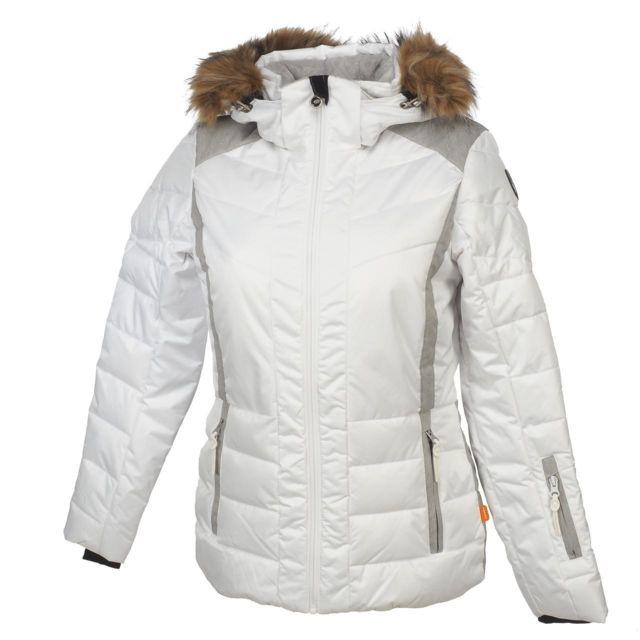 ICEPEAK Blouson de ski Icepeak Claudia blanc doudoune l Blanc 14356