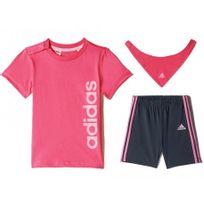 Adidas originals - I J Gift Pack Ros - Ensemble Bébé Fille Adidas