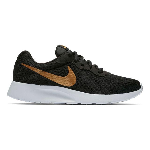 Nike Chaussures Multicolour Tanjun noir doré femme Multicolour Chaussures pas cher 81d6aa