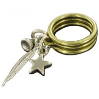 Ubu - Promo Bagues Fantaisie Amulette Plume