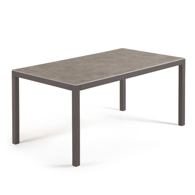 Kavehome Table Nessy Vulcano, 160x90 cm