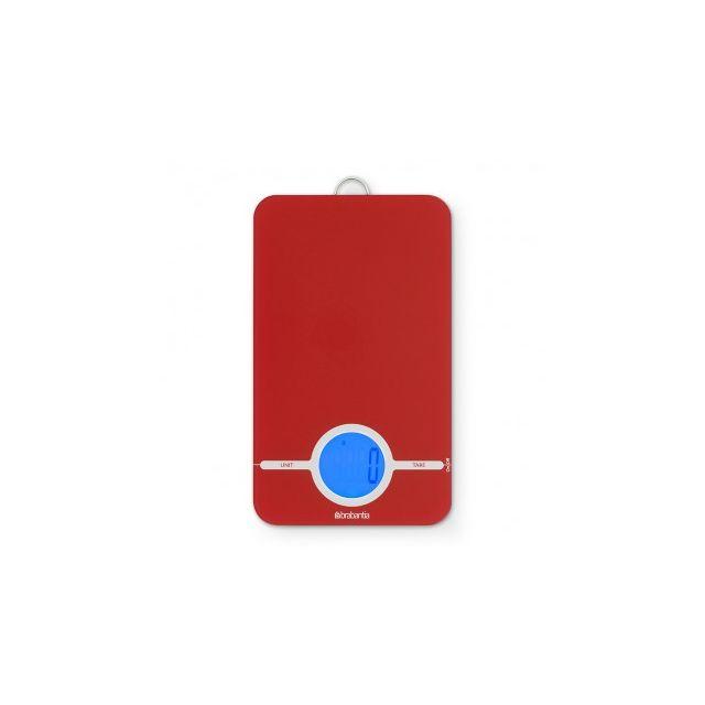 Brabantia Balance de cuisine digitale – Essential - Red
