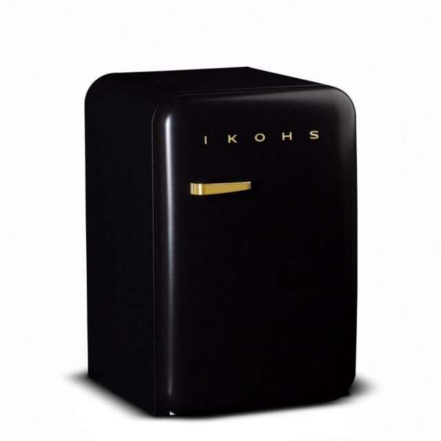 Ikohs Retro Fridge 83.5 Gold – Réfrigérateur