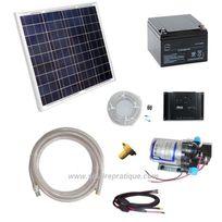 Solairepratique - Kit solaire pompe de surface Shurflo 2088 Deluxe Light